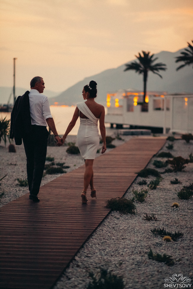 wedding photographer montenegro in Tivat