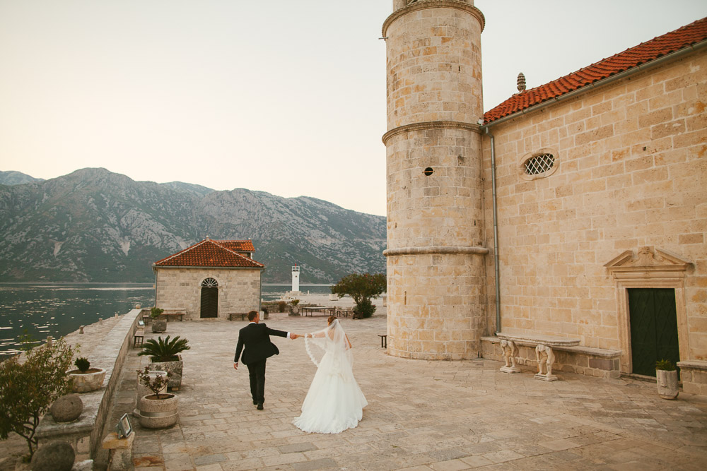 Montenegro wedding Perast Kotor Dobrota - Luxury wedding photographer Shevtsovy studio