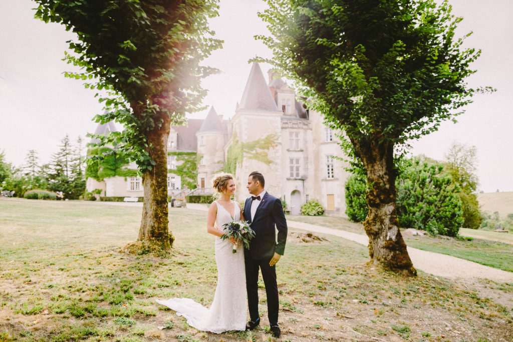 bordeaux wedding in chateau de la cote