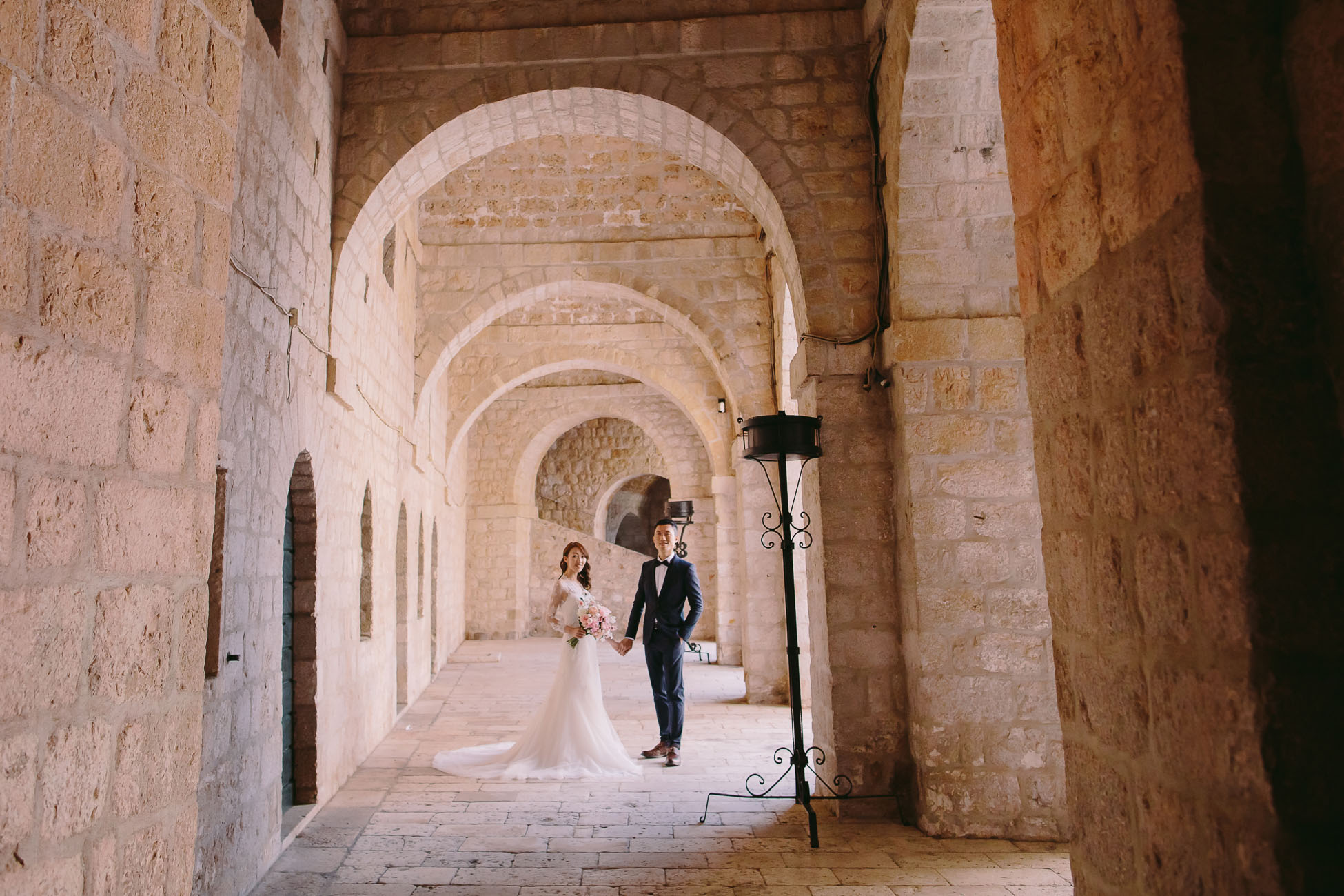 Prewedding photoshoot in Dubrovnik Croatia