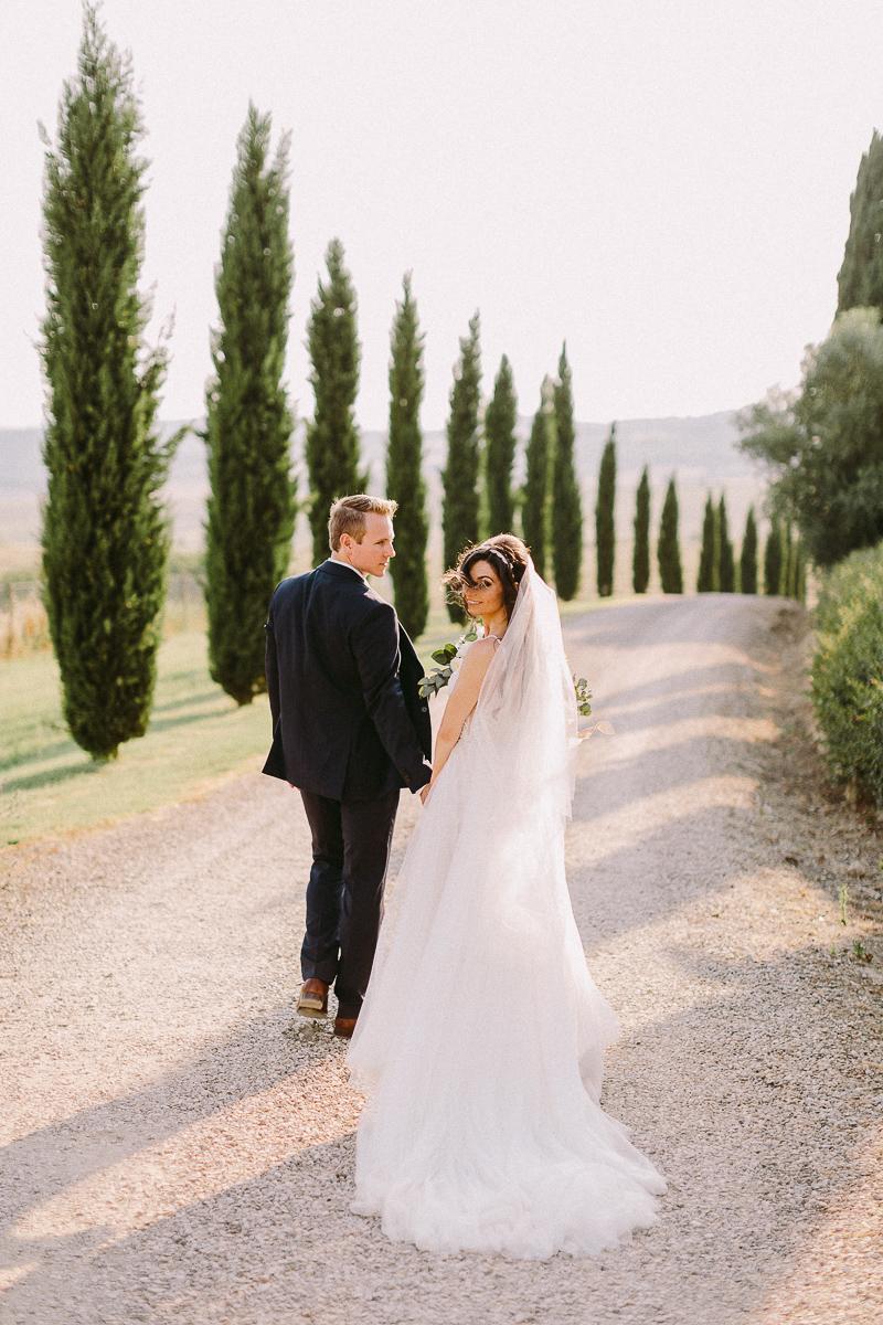 tuscany wedding in buonconvento