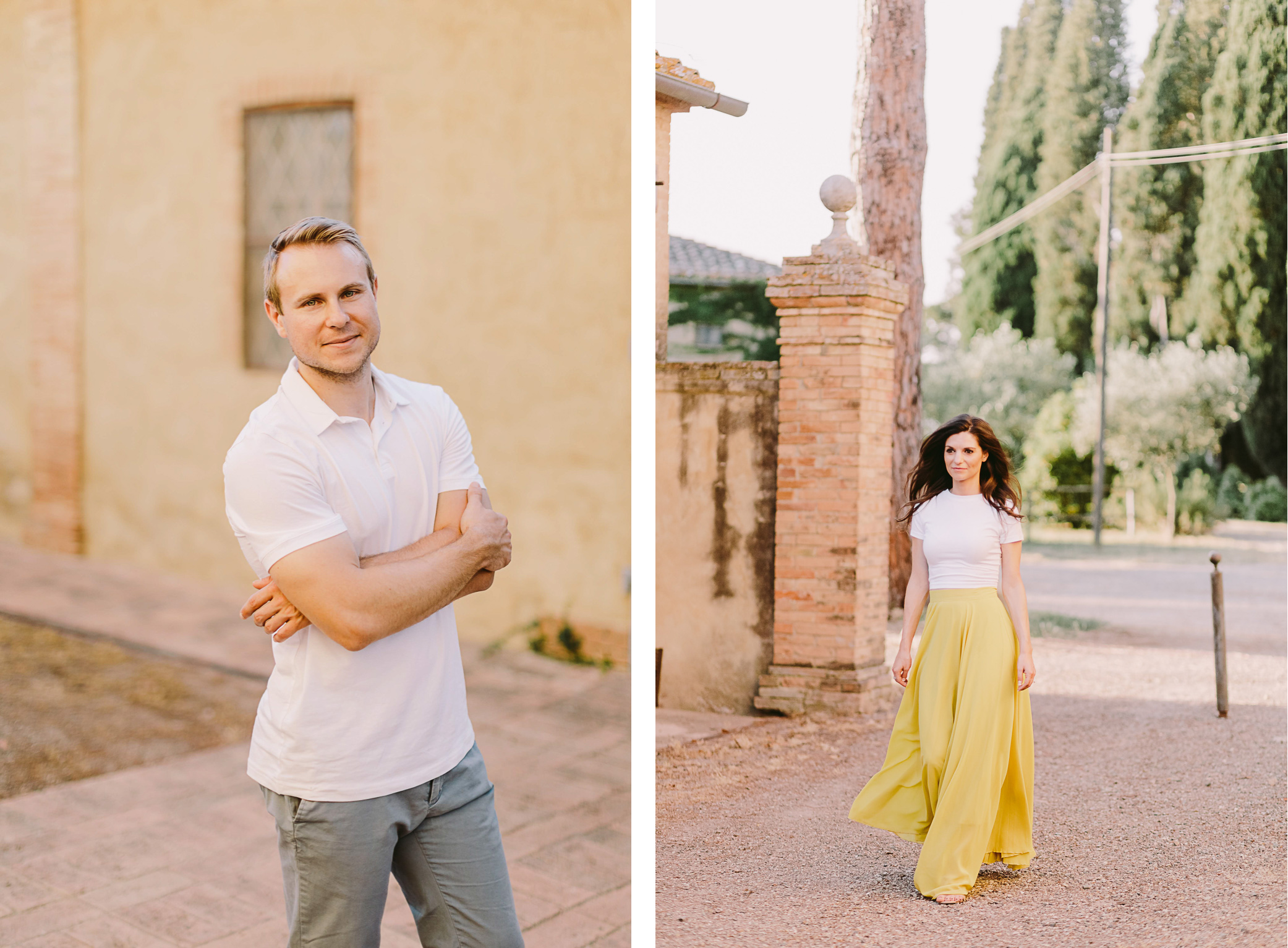 tuscany love story photoshoot